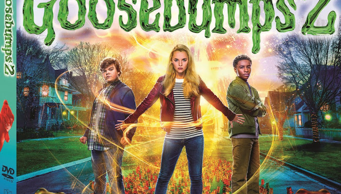 Goosebumps 2: Enjoy the Movie on Digital, DVD and Blu-ray! (GIVEAWAY)