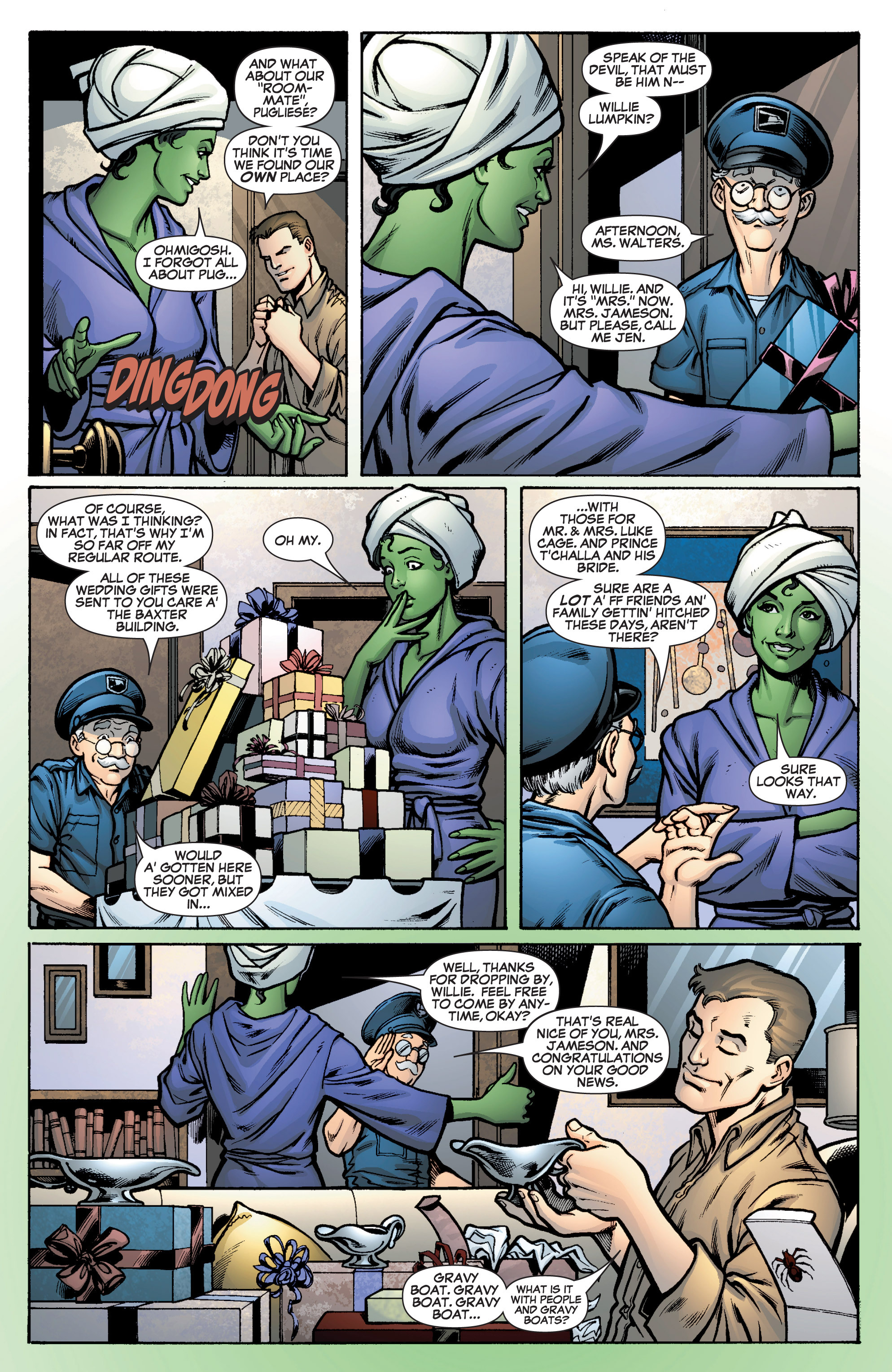 Read online She-Hulk (2005) comic -  Issue #10 - 13