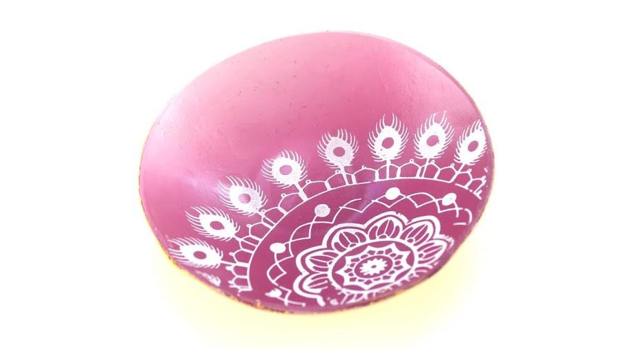 cuenco anillos arcilla polimérica polymer clay trinket tray