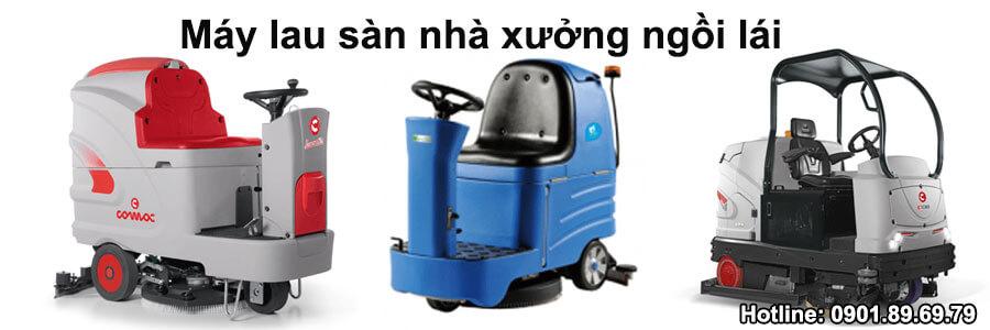 máy lau sàn nhà xưởng ngồi lái