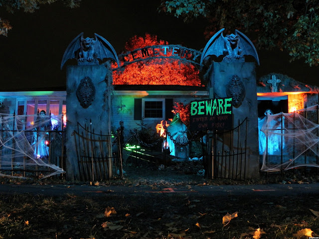 download halloween haunted house pictures for free