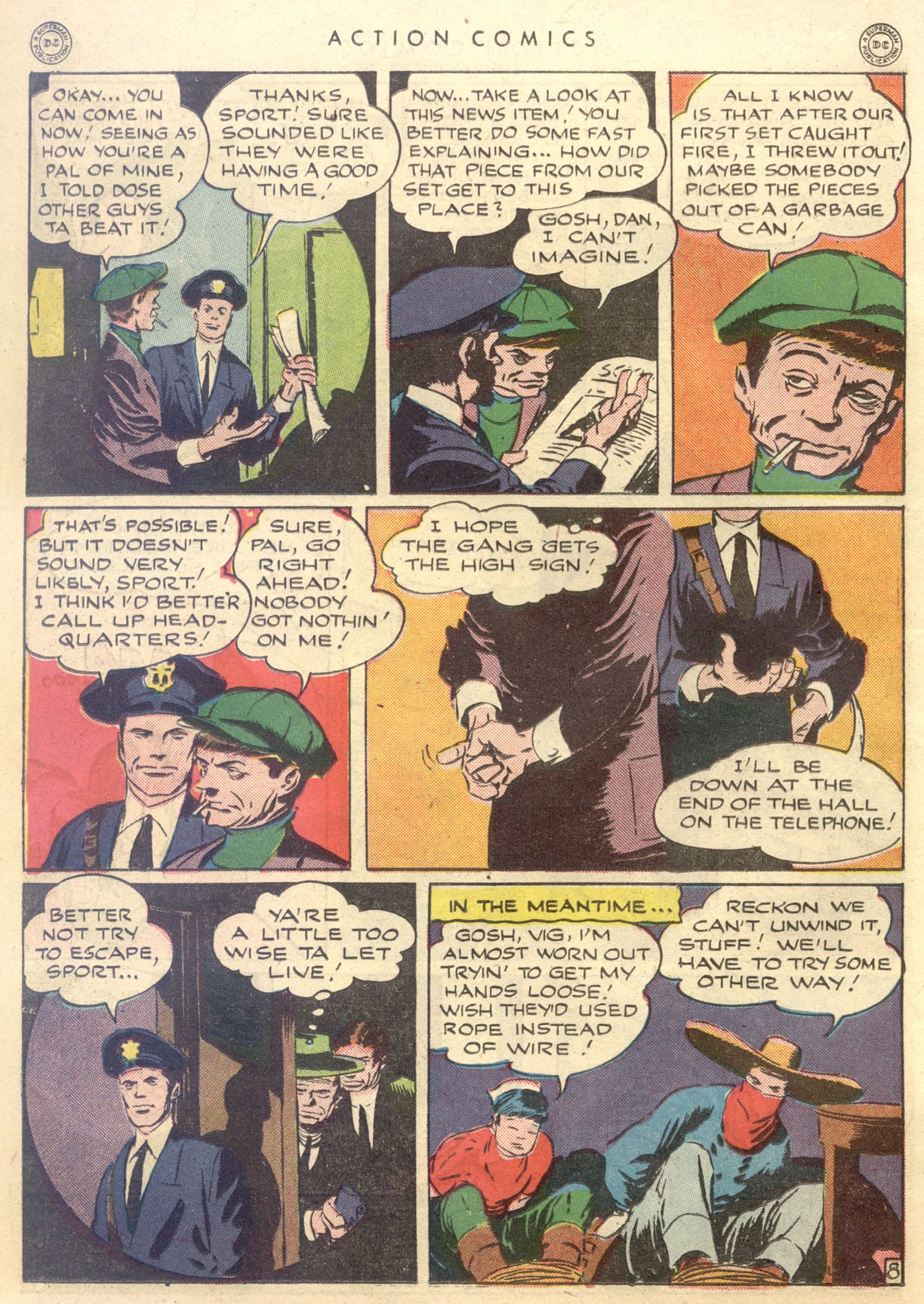 Read online Action Comics (1938) comic -  Issue #88 - 38
