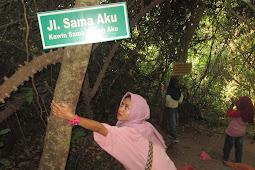 Zona Selfi Gunung Pinang Serang Banten