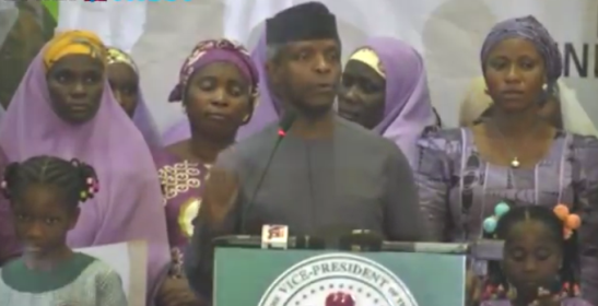 Video: Nigerians can now own houses with N30,000 - Yemi Osinbajo