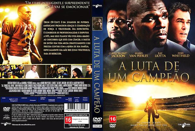 Capa DVD A Luta de um Campeão