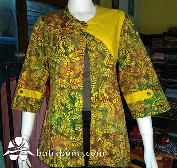 Blazer Batik Guguran Sulur