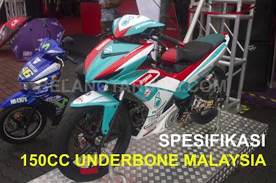 Spesifikasi Underbone 150cc Malaysia