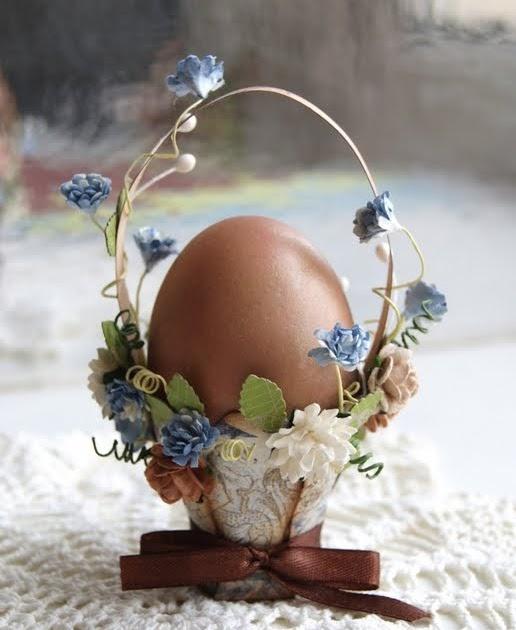 Canasta Para Huevos Manualidades.Como Hacer Una Canasta Para Huevos De Pascua Solountip Com