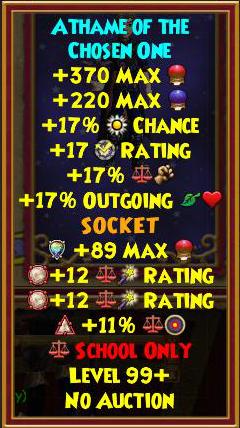 Wizard101 Morganthe Drop Guide: Accessories