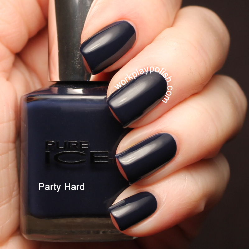 Pure Ice Party Hard (work / play / polish)