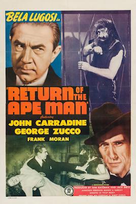 Poster do filme A Volta do Homem-Gorila