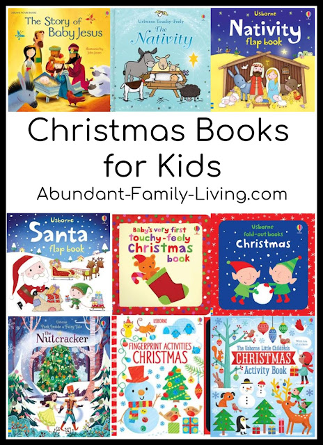 Christmas Books for Kids (A Large Collection from Usborne Books)