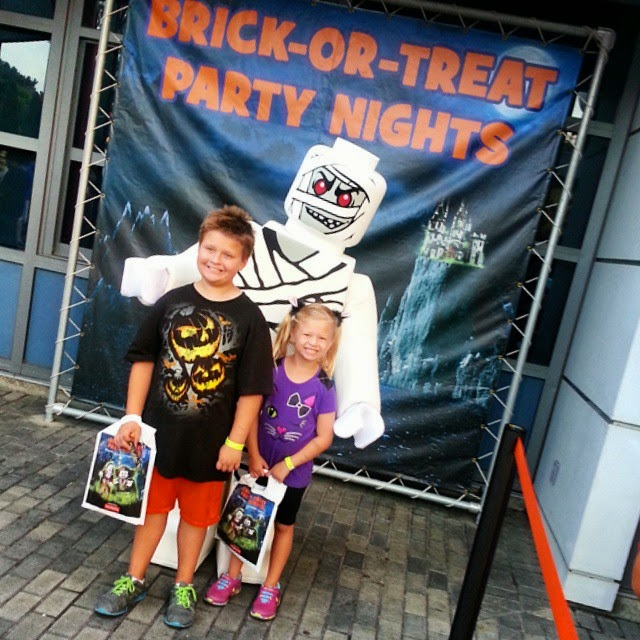 legoland brick or treat