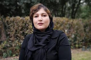 نگین آرامشی دانشجوی مترجمی زبان آلمانی دانشکدهی زبانها و ادبیات خارجی در دانشگاه تهران