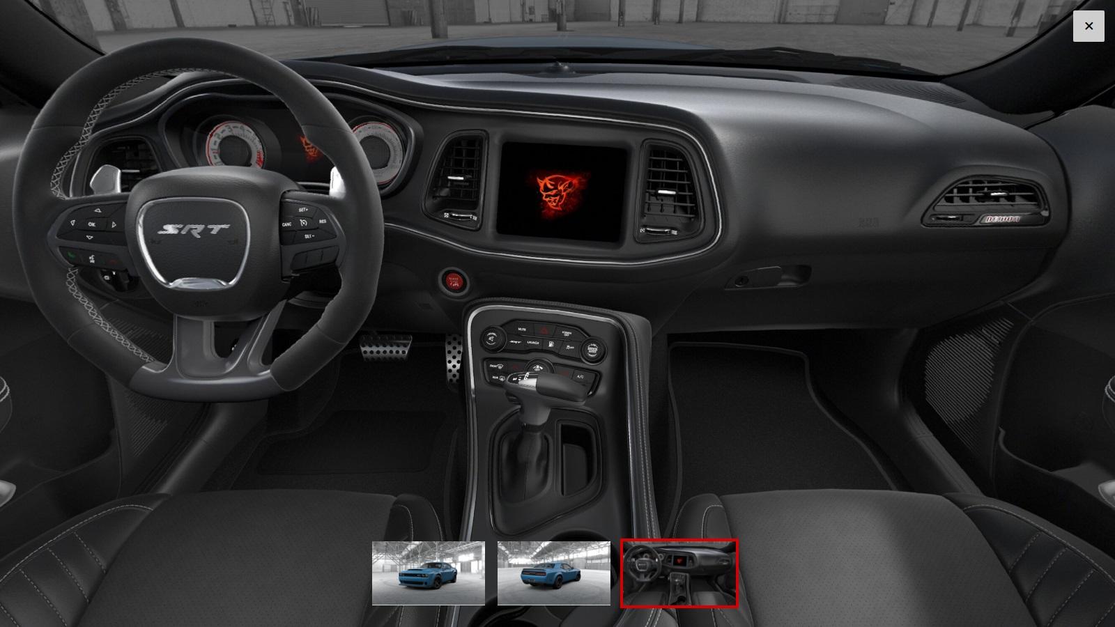 Dodge Challenger SRT Demon Configurator Goes Live