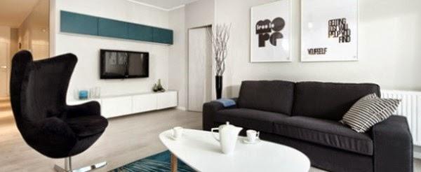 Komposisi Desain Interior Rumah Modern Dengan Penataan Yang Simpel