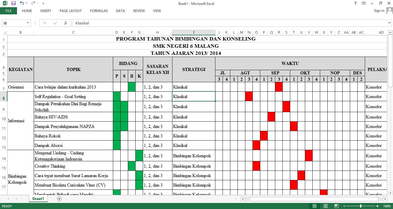 Program Kerja Bimbingan Konseling 2013 2 Modul 2implementasi Program Bk Dalam Kurikulum 2013 1365 X 727 Png 71kb Program Tahunan Bimbingan Konseling Smkn 6 Malang