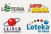 Resultados Lotería Nacional, Leidsa, Loto Real y Loteka