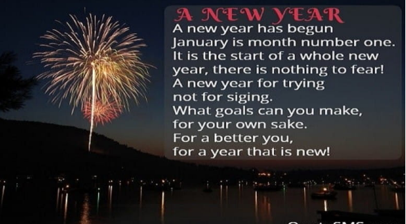 HAPPY NEW YEAR POEM Your Way To Success