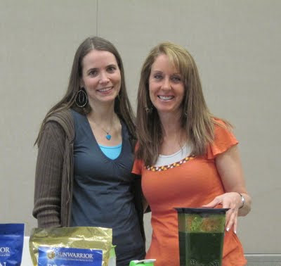 Tammie@SimpleHealthyTasty with GreenSmoothieGirl