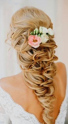 5 Beautiful Wedding Hair Style