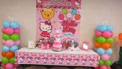hello kitty decoracin de fiestas de cumpleaos infantiles