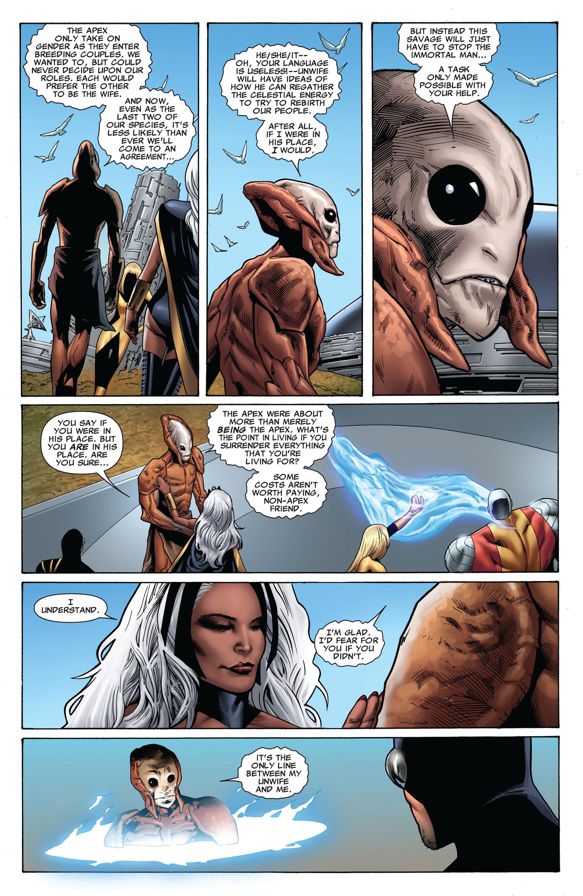 Read online Uncanny X-Men (2012) comic -  Issue #8 - 20