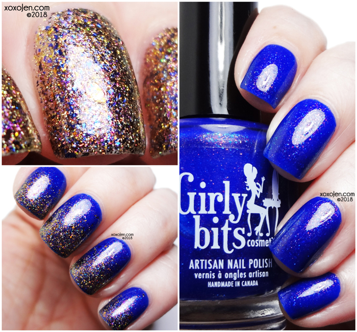 xoxoJen's swatch of Girly Bits November COTM Duo