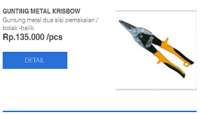gunting untuk rangka baja ringan daftar harga peralatan   atc menjual ...