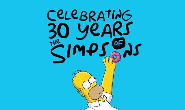 Celebrating 30 Years of the Simpsons
