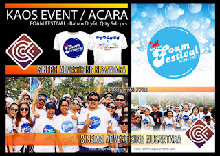 kaos event foam run
