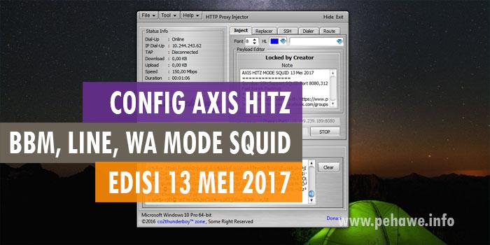 Config HTTP Injector PC Axis Hitz Squid Jatim Jabar Jateng