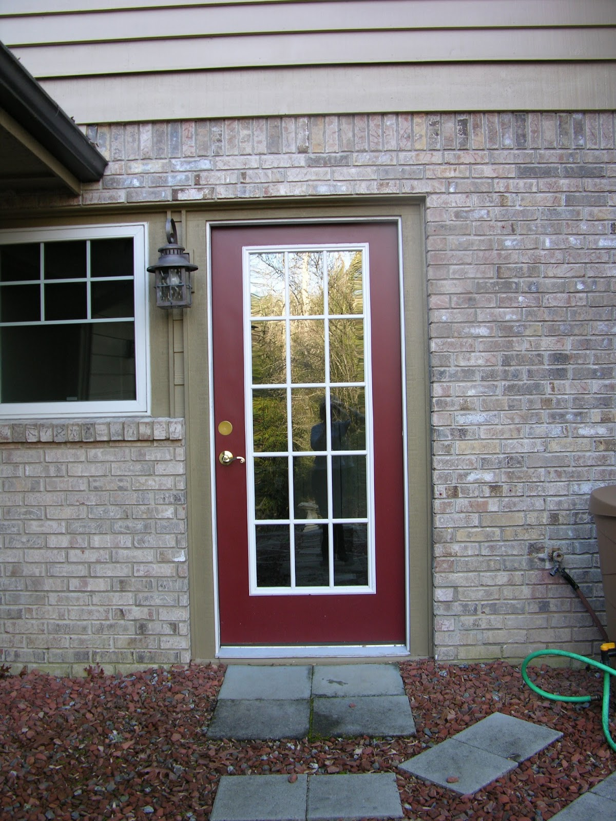 Paint color issues with vinyl doors and windows