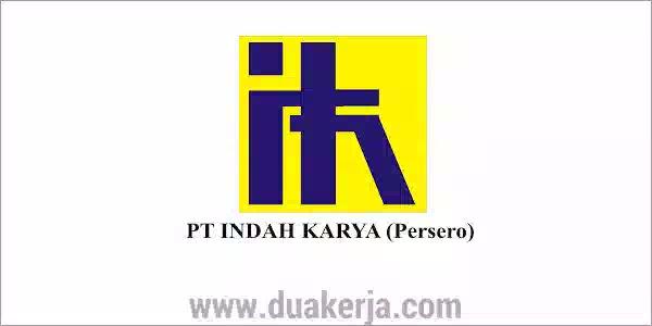 Lowongan Kerja PT Indah Karya (Persero) Terbaru 2019
