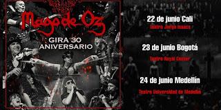 Mago de Oz en Colombia 2018