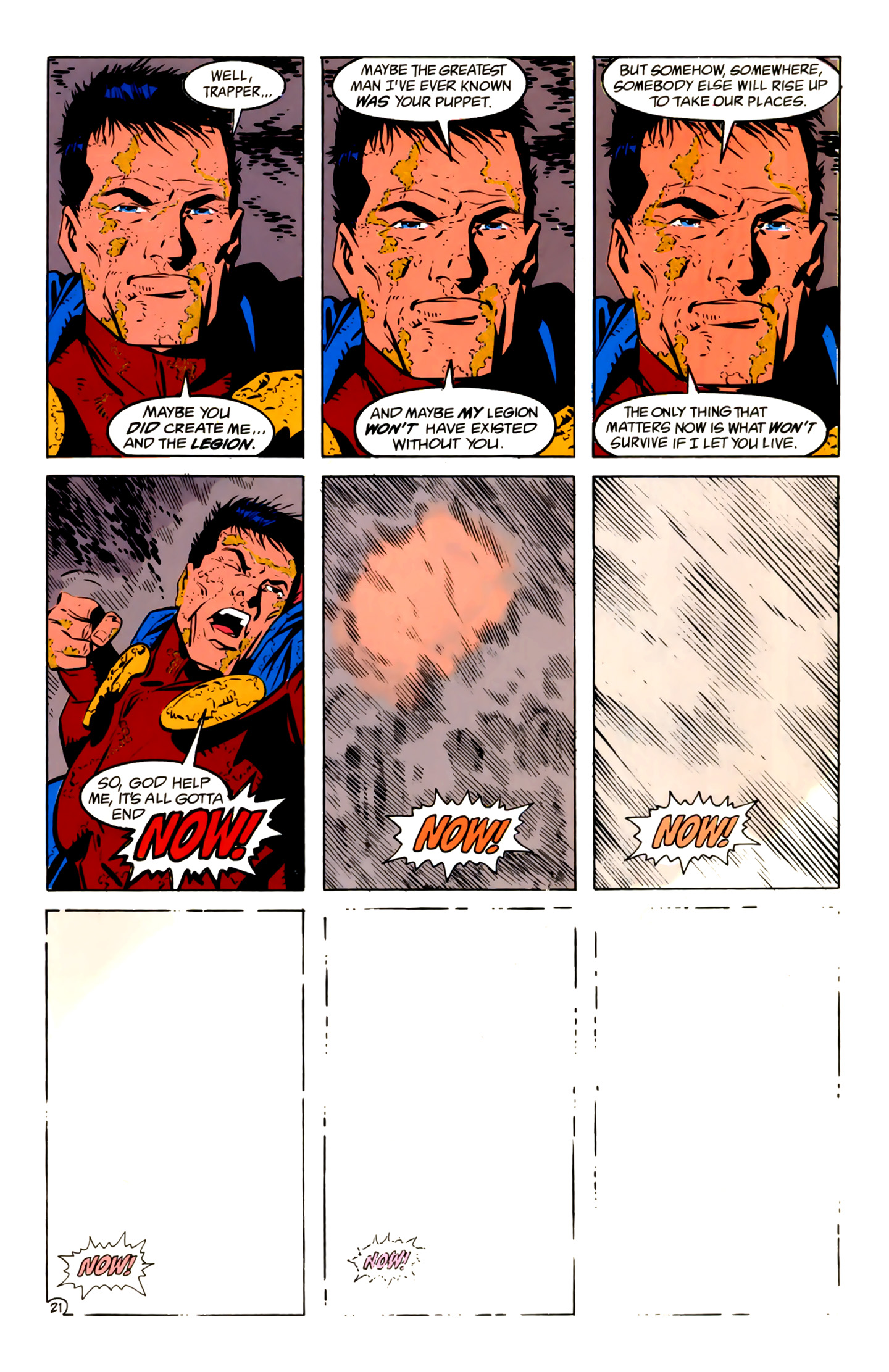 Legion of Super-Heroes (1989) 4 Page 21