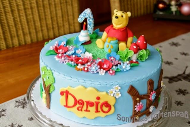 Immer wieder sonntags winnie puuh torte - Winnie pooh kuchen deko ...