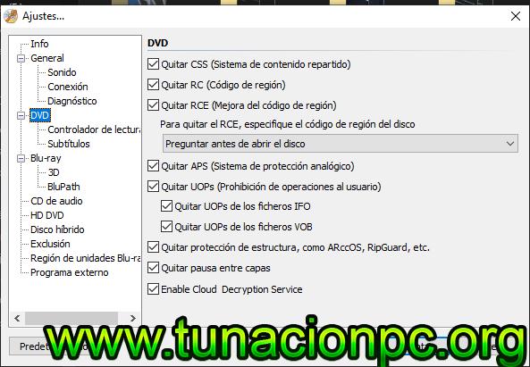 DVDFab Passkey Permite elminar seguridad de Blu-ray