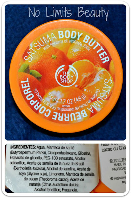 The Body Shop - Satsuma Body Butter