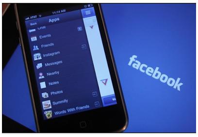 Facebook Login in Facebook App Facebook