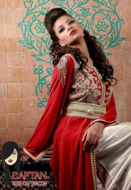 Caftan marocain / femme élégante pour 2017