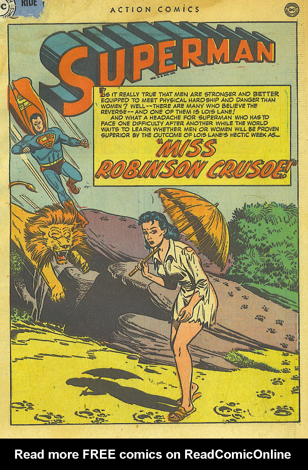 Action Comics (1938) 154 Page 2