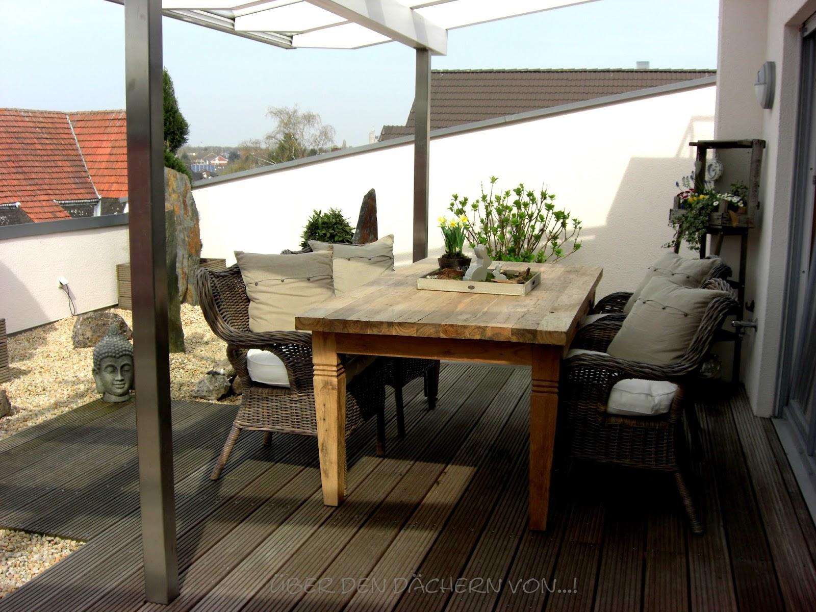 osterdeko drau en ber den d chern osterdeko. Black Bedroom Furniture Sets. Home Design Ideas