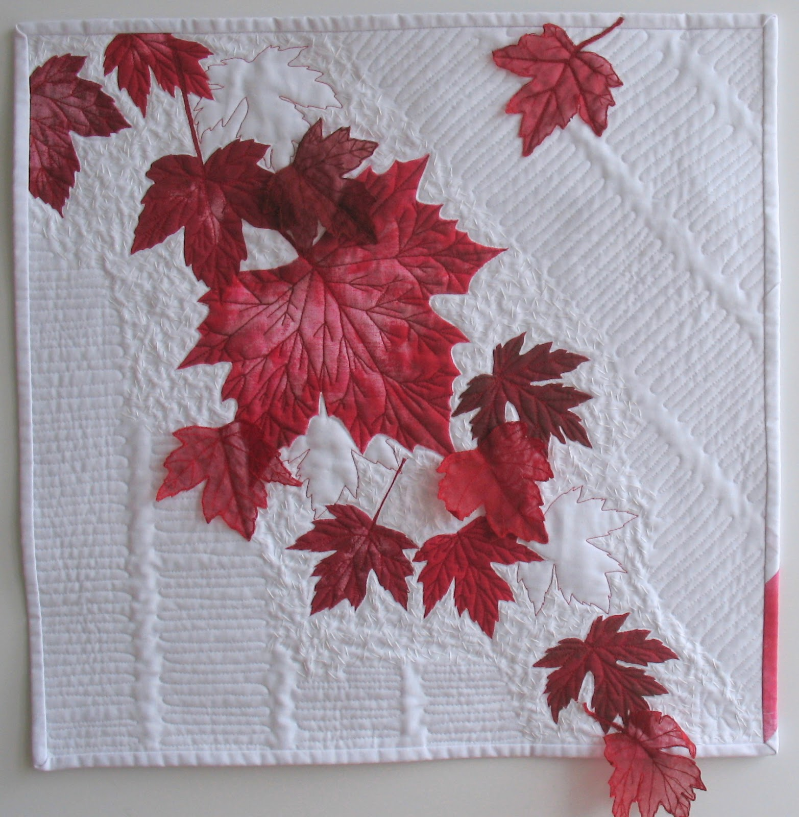 Kathy's High-Fibre Art Diet: Canada 150: Red and White : quilting stencils canada - Adamdwight.com