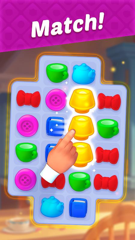 تحميل لعبةHomescapes (MOD مهكرة آخر اصدار  عدد غير محدود من النجوم / وظيفة مجانية)