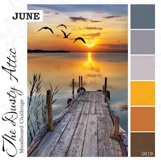 June Mood Board Challenge