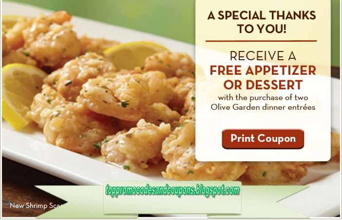 free printable olive garden coupons - Olive Garden Oshkosh