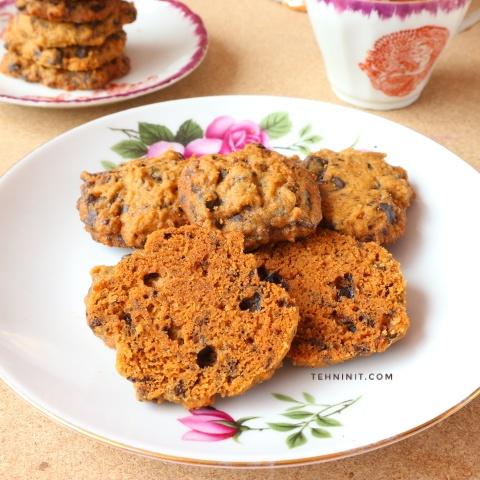 Resep Cokelat Chips Cookies (pakai full margarin)