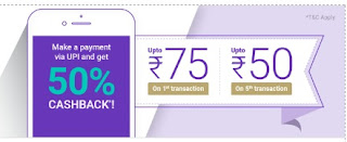 PhonePe new user Cashback Offers 2018 tricksstore
