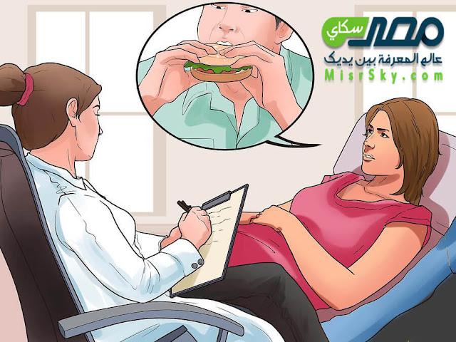 كيف يحدث الإفراض الشديد فى الطعام binge eating disorder ؟